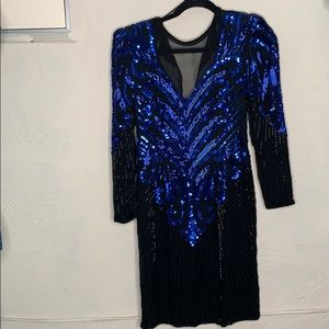 A.J. Bari 80s Cocktail Dress
